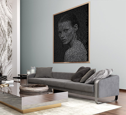 4 Examples of How to Combine Decoration and Art in your home