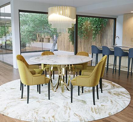5 Ideias de Decoração Para uma Sala de Jantar Moderna