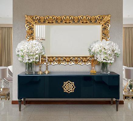 Descubra como utilizar espelhos decorativos e funcionais