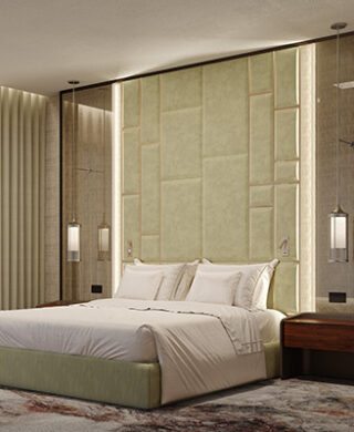 Find out how to create a luxury hotel bedroom at home